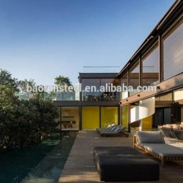 wood prefabricated houses and villas in alibaba