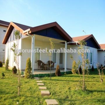 prefab resident luxury villa in alibaba
