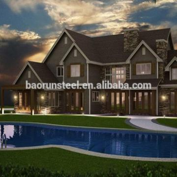 luxury house prefabricated price for beach