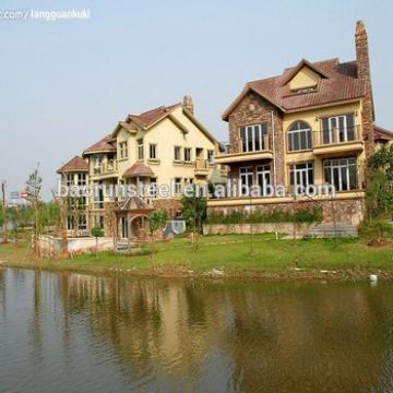 Prefabricated light steel structure villa (kerala style)