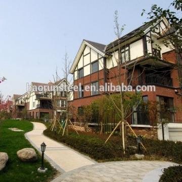 prefabricated light gauge steel luxury Modular Earthquake prefabricated luxury woode villa