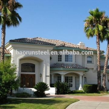 America standard luxurious prefab villa for sale