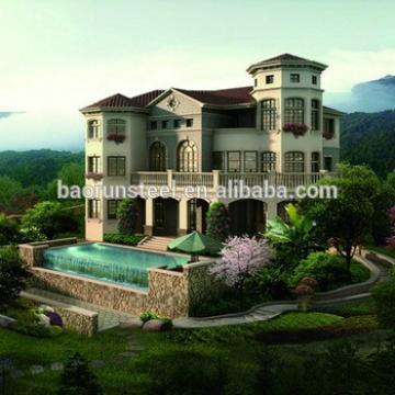 prefabricated exclusive luxury villa