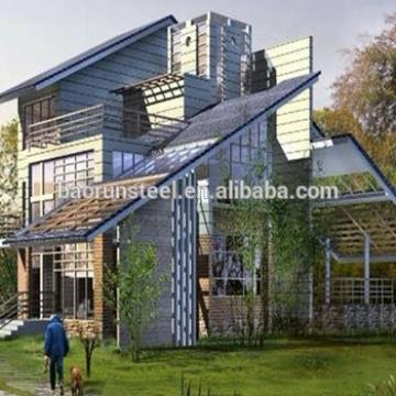 Low cost high benefit of prefabricated villa luxury