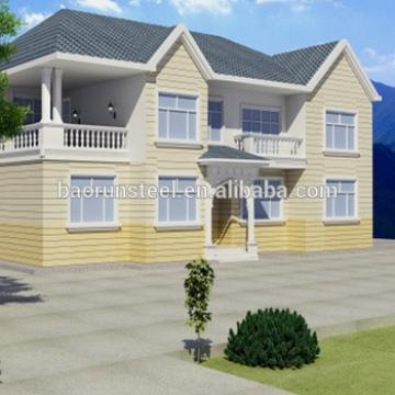 luxury steel prefab residential villas