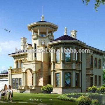 exclusive prefabricated luxury villa