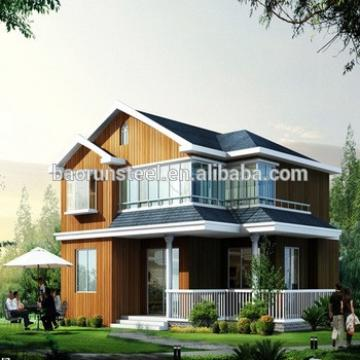 prefabricated new type steel villa house ,bungalow