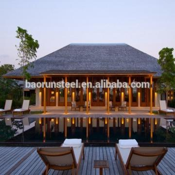 vacation luxurious prefab villa for sale for living