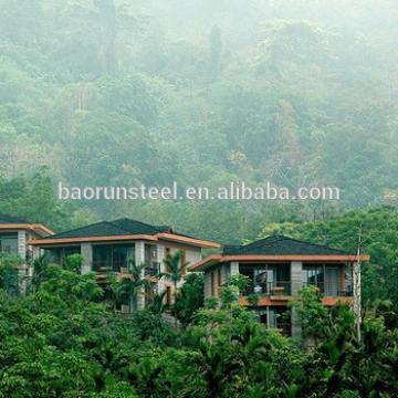 luxuriours design prefabricated villa ,cheap prefab modern cabins,green house