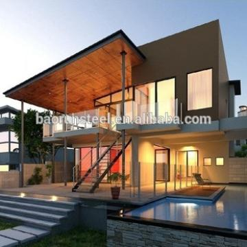 2ft modern prefab villa with walking board