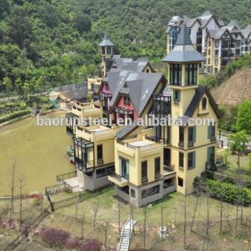 beautiful villa homes with walking board