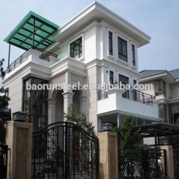 two bedroom prefab house , light steel prefab beach villa