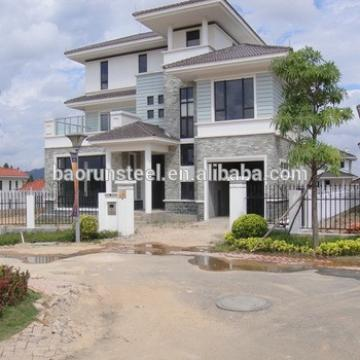 European design prefab modern villas for sale