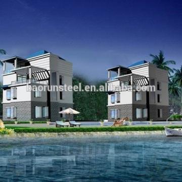 Simple design resist-cold construction prefabricated homes,2015 hot sale good quality prebuilt villa house, prefab villa HG-V53