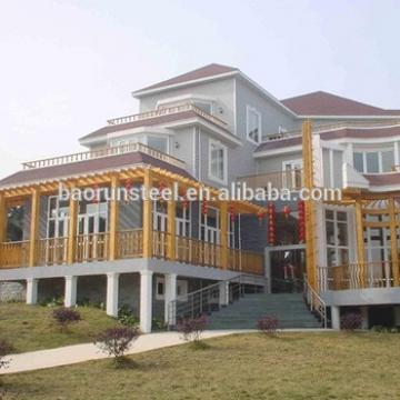 steel structure villa, prefabricated house, simple and fast prefabricated villa construction