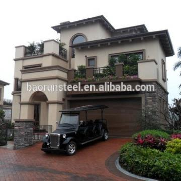 luxury home goods/luxury light steel homes