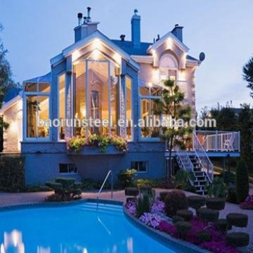 prafabricated villa/portable prefab house