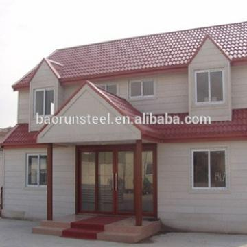 Good quality luxury prefabricated villa ,resort house