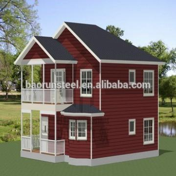 new design luxury prefab steel villa for sale
