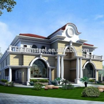 hot sale residential light steel prefab house for sale