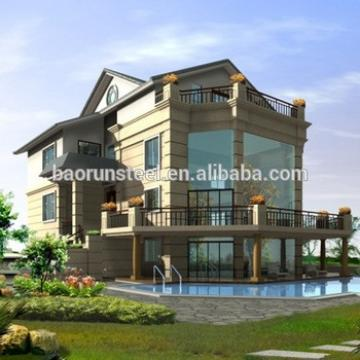 2015 prefab luxury steel villa for sale