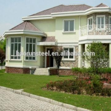 steel building kits, prefabricated houses villa for sale