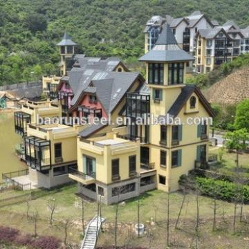 Attractive Cladding Villa, Beautiful Design Light Steel Framing