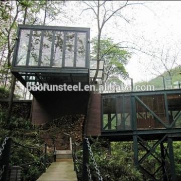 Modern Design Wall Cladding Light Steel Villa
