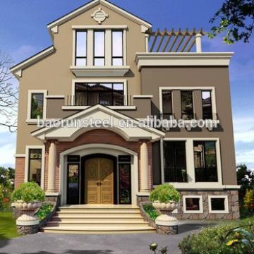 More than 90 years lifetime luxury tiny prefab villa