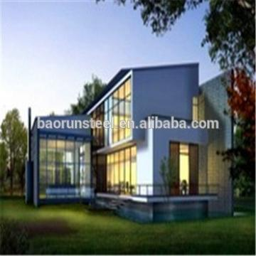 Most popular moden effective prefabricated wooden villa