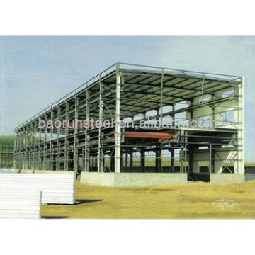 pre fabricated steel structure building 80mx20mx6m in Sierra Leone 00204