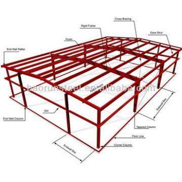 steel structure metal garage steel garage steel carport clear span 90 meters 00111