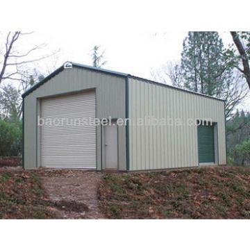 steel structure pre-fab metal building garages 00096
