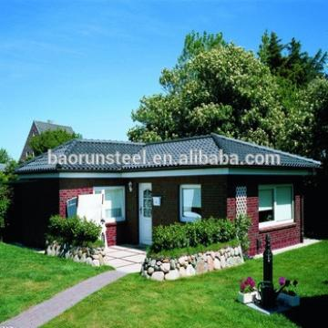 German Stylish Prefabricated Steel House & Construction Used Price