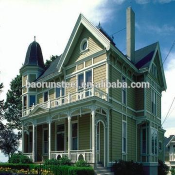 luxury light gauge steel frame prefab houses