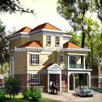 China Supplier Modern Prefabricated Villa