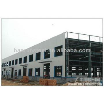 structural steel Mercedes Benz Showroom workshop building 00192