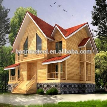 Three-Storey Customized Design Low Cost Steel Gauge Prefabricated Bungalow