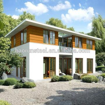 Luxury Modern Design China Supplier Export Prefab House Best Price
