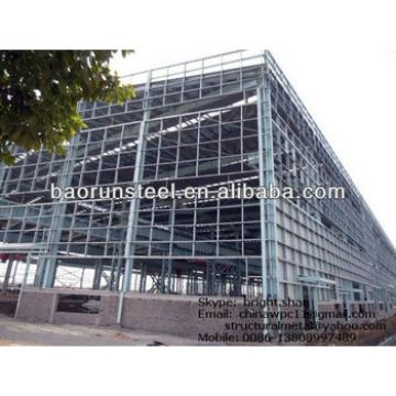 Large Span Steel Frame Building3