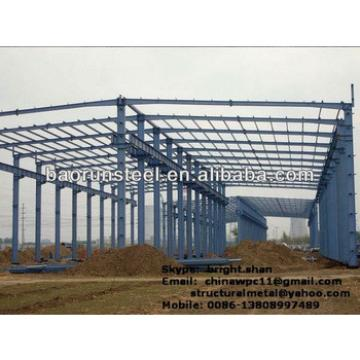Large Span Steel Frame Building6