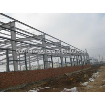 prefabricated buildings Steel Structure emporium industrial hall 00219