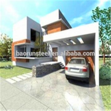 Easy assembling for Metal buildings of Luxury Prefab steel Villa