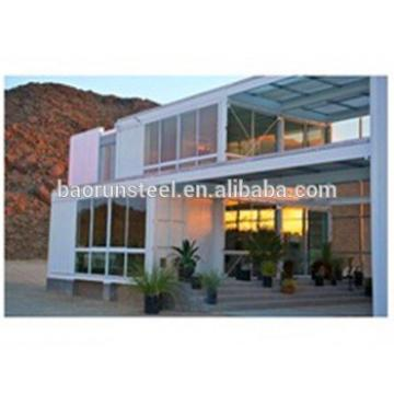 Beautiful prefab resort building,luxury prefab steel villas, Steel villa luxury building