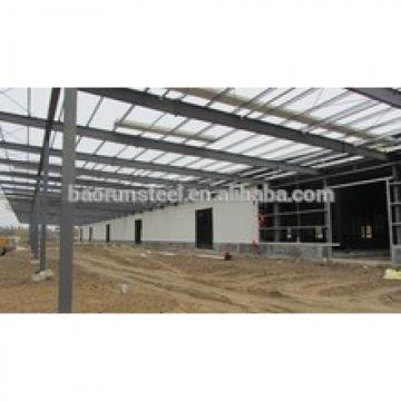 Construction design steel roof prefabricated shed steel structure