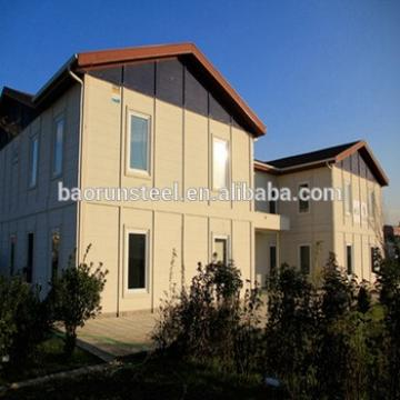 baorun design Two-Storey Luxury Design Light Steel Prefabricated House