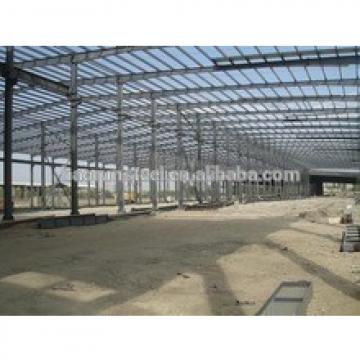 Steel frame construction prefabricated steel structure warehouse