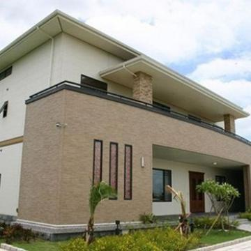 BAORUN eco-friendly steel material for Fast Construction Prefabricated Luxury Prefab Steel Villa