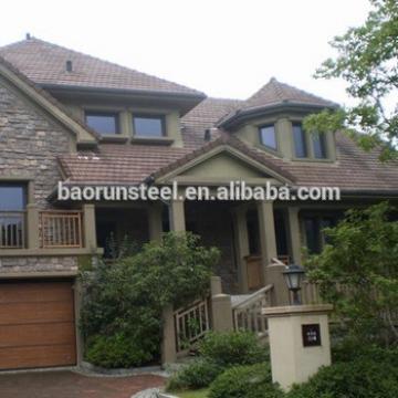 baorun prefab light steel garden cabin for sale