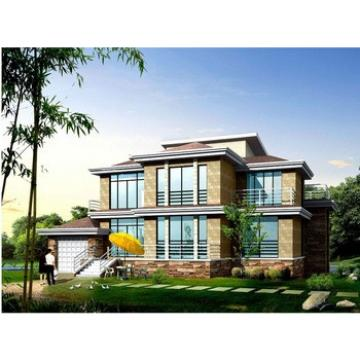 BAORUN Customized cost-effective Self Build Steel Structure Prefabricated Bungalows